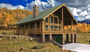 log home floor plans with basement log cabin floor plans wyoming yellowstone log homes