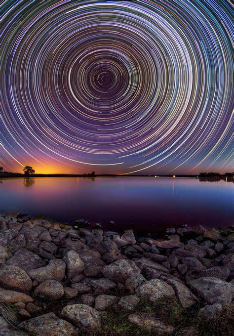 incredible long time exposure  illumination  stars
