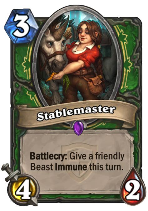 Hearthstone Beast Deck 2015 by Stablemaster Hearthstone Card