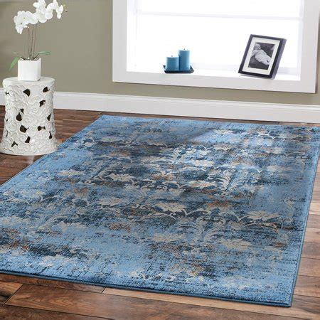 Cheap Blue Area Rugs by Premium Rugs Large 8x11 Rugs For Living Room 8x10 Area