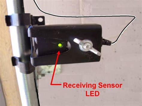 garage door sensor light quot why won t my garage door quot safety sensor 101