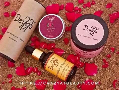 deyga products review beetroot lip balm rose scrub
