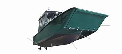 Munson Landing Craft Hull Catamaran Houseboat Boats