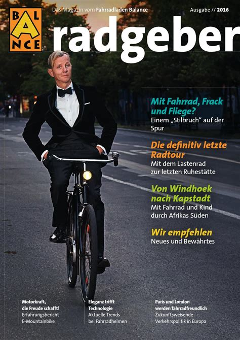 magazin radgeber balance gmbh bochum  fahrradies