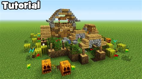 minecraft tutorial     garden house youtube