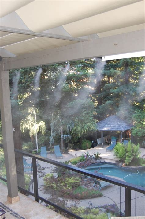 high pressure misting systems patio misters misting pros