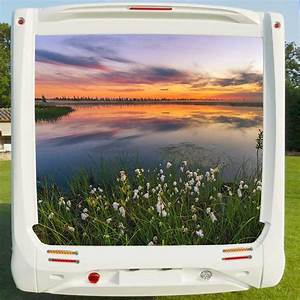 Deco Camping Car : deco sticker camping car sunset at the lake ~ Preciouscoupons.com Idées de Décoration