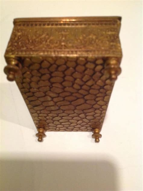 jennings brothers metal greek relief covered box pazzaz