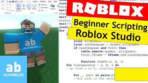 script  roblox  beginners roblox studio