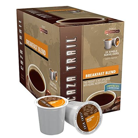 Caza Trail Coffee, Single Serve Coffee Cup for Keurig K Cup Brewers, 2