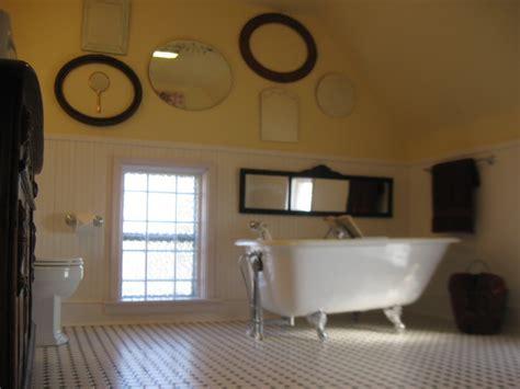 miller bathroom  retro farmhouse bathroom