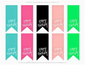 Free Happy Birthday Printable Gift Tags
