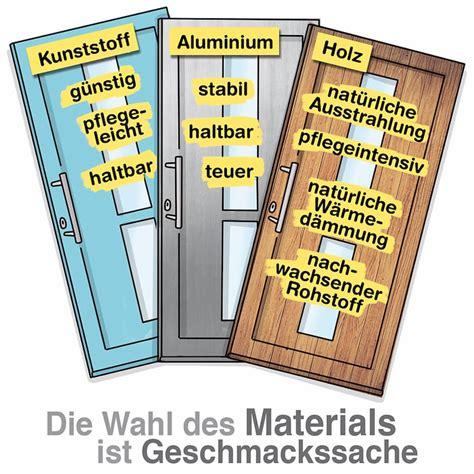 Haustueren Aus Kunststoff Aluminium Oder Holz Materialien Im Vergleich by Was Kostet Die Neue Haust 252 R