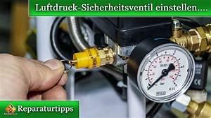 Kompressor Druckschalter Einstellen : sicherheitsventil berdruckventil am kompressor einstellen so geht 39 s youtube ~ Orissabook.com Haus und Dekorationen