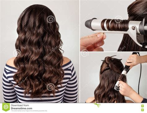 hairstyle curly hair tutorial image of easy