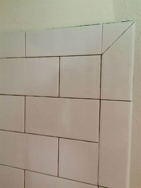 tiling inside corners with subway tile subway tile crisis help with corners