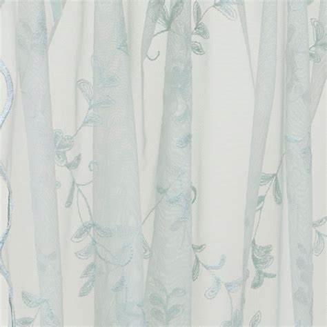emily mcguinness posie embroidered lace curtain