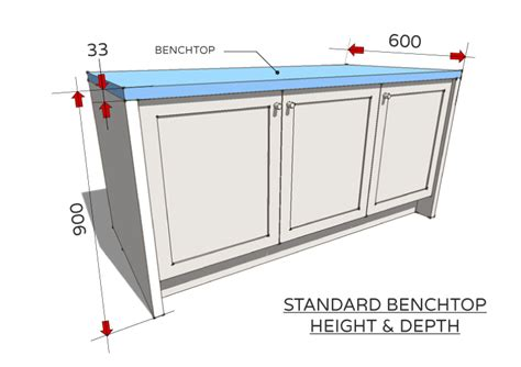 kitchen island with table standard dimensions for australian kitchens renomart