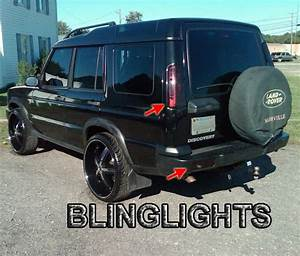Land Rover Discovery Tinted Tail Lamp Light Overlay Kit