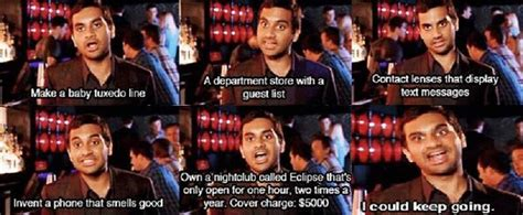 Best Of Tom Haverford's Inventions On Parks & Rec Loud Music In Apartment Skyline Deluxe Hotel Dubai San Remo Apartments Hesperia Ca 57th Street New York 55 West Downtown Orlando Quads Mankato Mn Staten Island Luxury North Hills Manor Meridian Ms