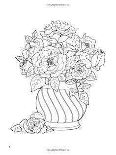 Floral Bouquets Coloring Book | Coloring pages first