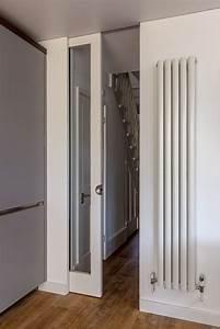 Floor to ceiling glass sliding pocket door | modern tall ...