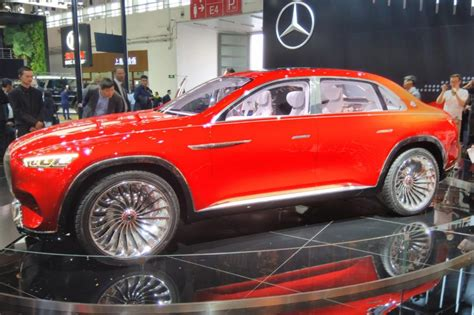 luxury vision mercedes maybach suv concept revealed