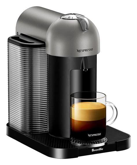 capsule nespresso vertuo nespresso vertuo coffee and espresso machine by breville titan kitchen dining