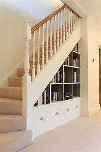 CUBIST understairs storage bookcase new home Pinterest