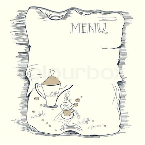 Big set of restaurant and cafe menu design. Template for coffee menu | Stock Vector | Colourbox