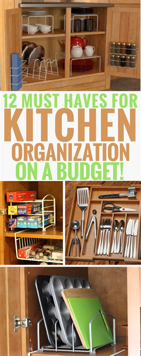 kitchen organization ideas budget 12 must products for kitchen organization on a budget