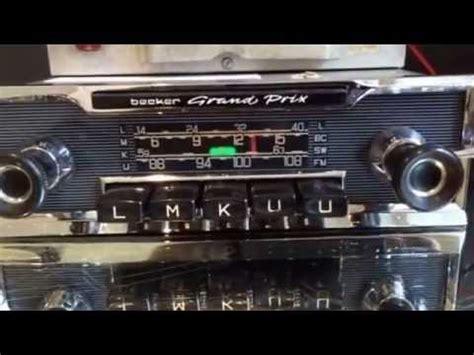 chromelondon com becker grand prix us wonderbar vintage car radio with wonderbar and mp3