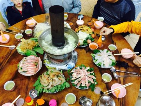 Steamboat Dinner by Steamboat Dinner Portion For 6 Persons Picture Of