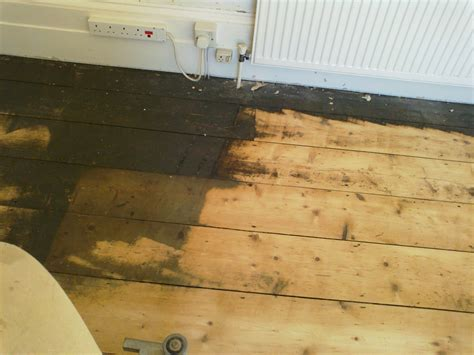 Floor Sanding And Gap Filling Project In Guildford