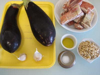 cuisine libanaise aubergine recettes libanaises aubergines