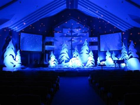christmas stage decorations 24 best images about show choir back drop on snowball hanging candles and fabrics