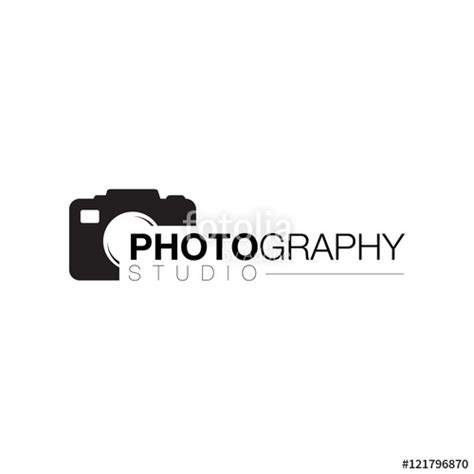 camera lens photographer logo icon design vector stock