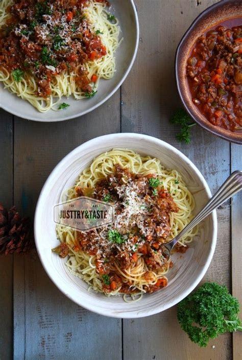 Tidak hanya memiliki citarasa yang lezat, resep spaghetti termasuk resep masakan eropa yang cukup praktis dan mudah dibuat. Spaghetti Bolognese | Masakan, Resep masakan, Resep makanan