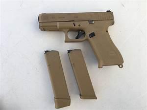 Glock 19X (G19X), Glock 19 (G19) Gen5, Glock 17 (G17) Gen5 ...