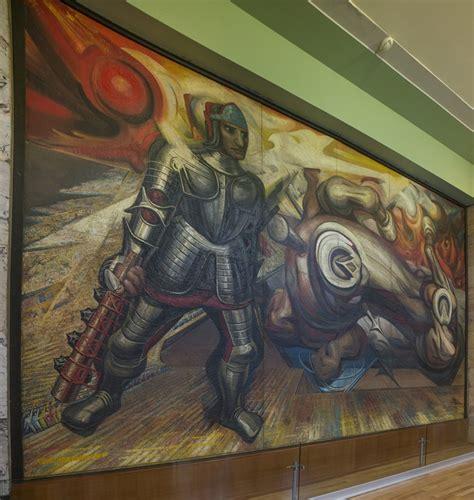David Alfaro Siqueiros Murales Bellas Artes by Bank Of America Patrocina Conservaci 243 N De Murales De