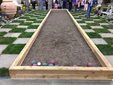 Backyard Bocce Court Dimensions best 25 bocce court ideas on bocce court