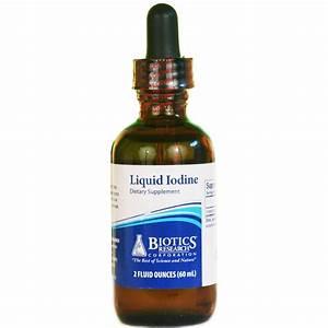 Biotics Liquid Iodine Thyroid Support
