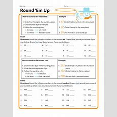 Round 'em Up  Worksheet Educationcom