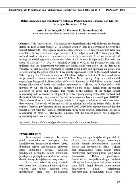 Jurnal astuti (hal 97 108) by Jurnal Perspektif Pembiayaan