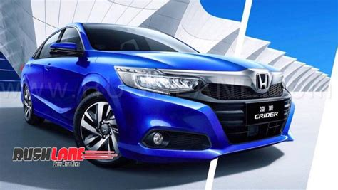 honda city based crider sedan launched  china bigger