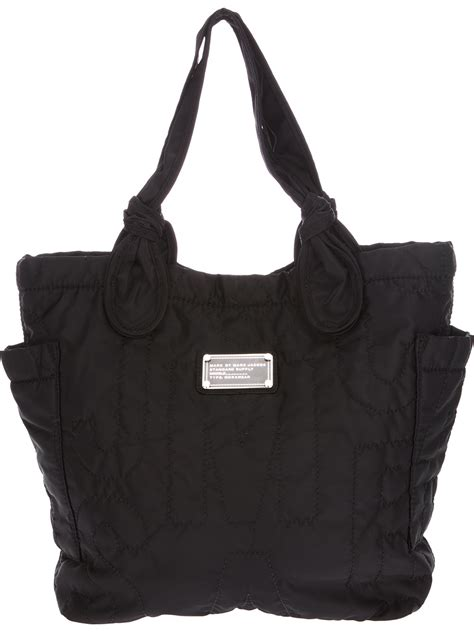 lyst marc  marc jacobs tote bag  black