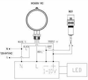 Microwave Motion Sensor For Linear   Low Bay    High Bay