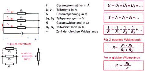 parallelwiderstand berechnen widerstand kondensator