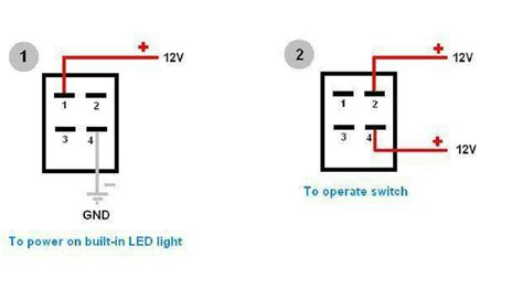 I'm trying to interface a rocker switch in order to control 4 linear actuators with an arduino mega, and i'm a bit confused with the wiring setup for the switch. Rocker Switch Wiring 4 Pin | Wiring Schematic Diagram - 6.pokesoku.co