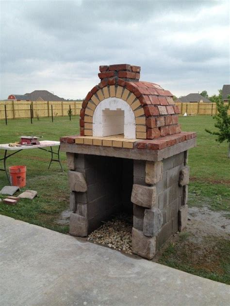 outdoor kitchen pizza oven design diy pizza oven brick outdoor furniture design and ideas 7243